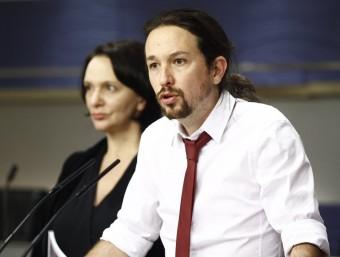 El líder de Podem, Pablo Iglesias, en una imatge recent EUROPA PRESS