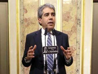 Francesc Homs, portaveu de DL al Congrés EFEO