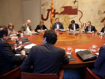 La reunió del consell executiu d'aquest dimarts ACN