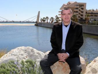 El regidor de CCSA a l'Ajuntament de Calonge, David Llensa, fotografiat abans de les darreres eleccions municipals, en què encapçalava la llista MANEL LLADÓ