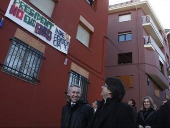 El president de la Generalitat, Carles Puigdemont, aquest divendres a Puigcerdà ACN