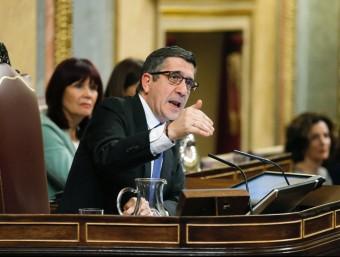 Patxi López, president del Congrés dels Diputats, durant el debat d'aquest divendres EFE