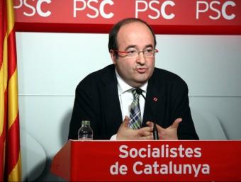 Miquel Iceta, primer secretari del PSC ACN