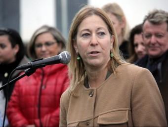 La consellera de la Presidència, Neus Munté, aquest diumenge a Arenys de Mar ACN