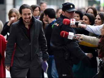 Pablo Iglesias, líder del Podem