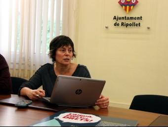 La tinent d'alcalde Pilar Castillejo ACN