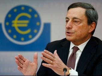 El president del Banc Central Europeu, Mario Draghi.  ARXIU