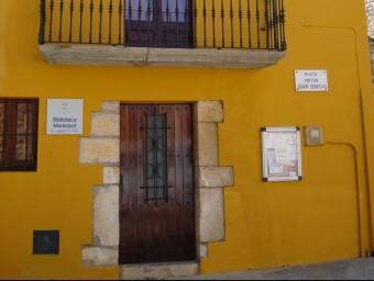 Biblioteca municipal Lluís Poch, a Avinyonet AJ.AVINYONET