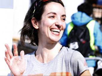 Marisa Casanueva, somrient després de la prova XAVI URGELÉS
