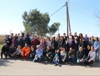La trobada dels comuns es va celebrar a l'Horta i va congregar desenes de persones COMÚ