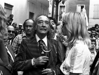 Salvador Dalí a Ceret amb AmandaLear L'INDÉPENDANT, PATRICK DAVIAU