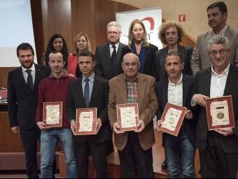 Els guardonats Josep Losada