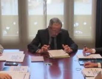 Reunió de la comissió executiva de la Xarxa C-17 que es va fer dimarts a Granollers AJUNTAMENT DE GRANOLLERS