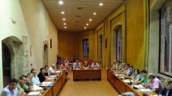 La primera reunió del Consell d'Alcaldes ja va posar l'aigua com a prioritat a resoldre CCCB