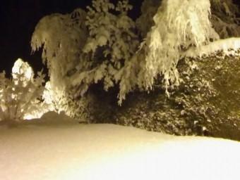 Neu a Sant Pau de Sergúries @METEOCAT/JOAN SOLÀ