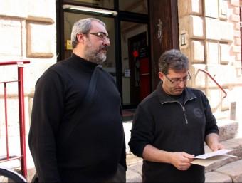Els representants veïnals van presentar la denúncia al jutjat de guàrdia de Tortosa. ACN