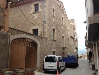 façana d'Alfolí de la Sal, l'equipament cultural que rebrà la major subvenció que destina el PUOSC específic a l'Alt Empordà. JOAN PUNTÍ