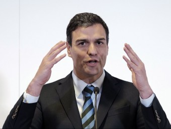Sánchez, durant la seva visita a les illes Canàries EFE