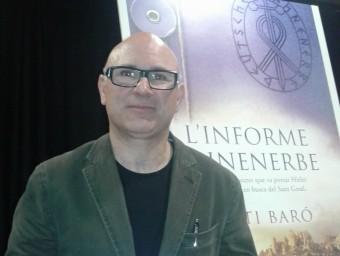Santi Baró, a la presentació que es va fer a Olesa de Montserrat. M.V