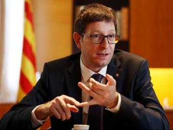 El conseller de Justícia, Carles Mundó ANDREU PUIG