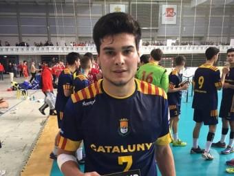 Natán Suárez va ser MVP estatal amb Catalunya