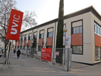 Un dels edificis de la Universitat Central de Catalunya (UVic-UCC).  ARXIU /JUANMA RAMOS