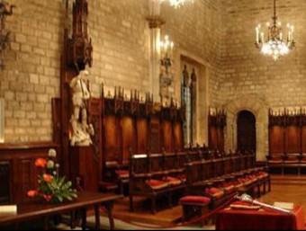El llibre 'Facts About Catalonia' parlava de la composició del Consell de Cent de Barcelona el 1257.  ARXIU