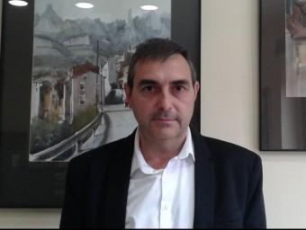 Joan Miquel alcalde de Monistrol de Montserrat. M.V