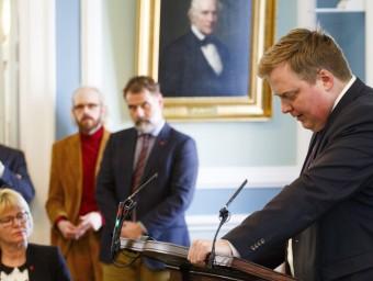 El primer ministre islandès, Sigmundur Gunnlaugsson EFE