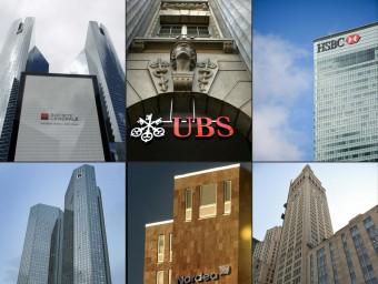 Seu a Londres del banc HSBC, el que més empreses deslocalitzades havia creat amb Mossack Fonseca AFP