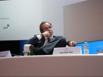 El president del Grup Damm, Demetrio Carceller EP