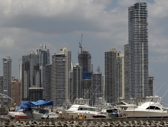 Moltes societats pantalla estan ubicades al barri de negocis de la ciutat de Panamà.  REUTERS