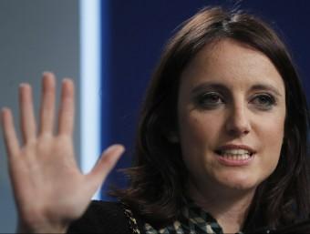Andrea Levy, vicesecretària d'Estudis i Programes del PP