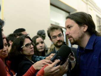 El líder de Podem, Pablo Iglesias EFE