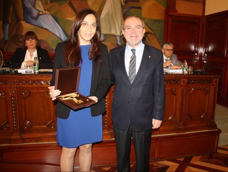 Marta Huguet, d'ERC i regidora de Montornès de Segarra, va prendre possessió com a nova diputada provincial ACN