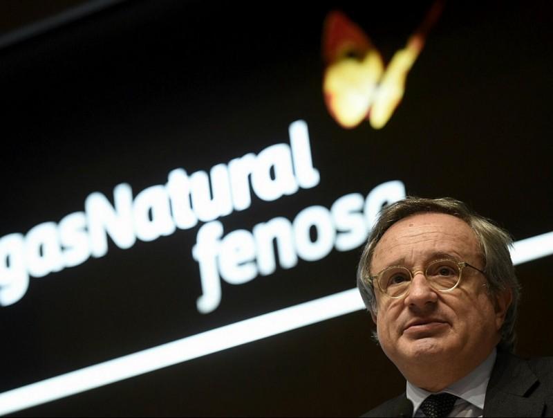 Rafael Villaseca, conseller delegat de Gas Natural Fenosa, en la presentació de resultats.  EFE