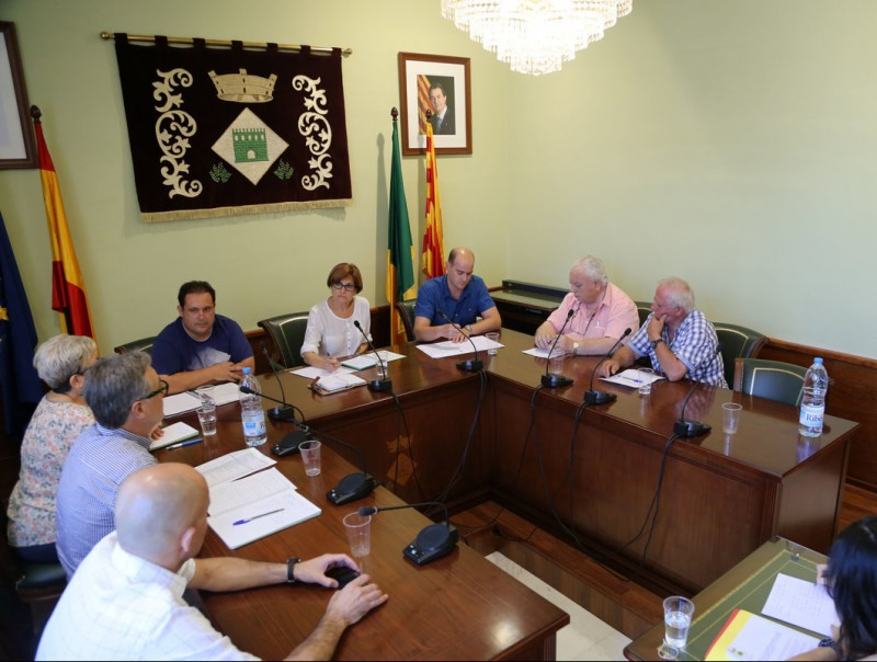 Un moment del ple de l'Ajuntament de Palau-saverdera, en una imatge d'arxiu M. LLADÓ
