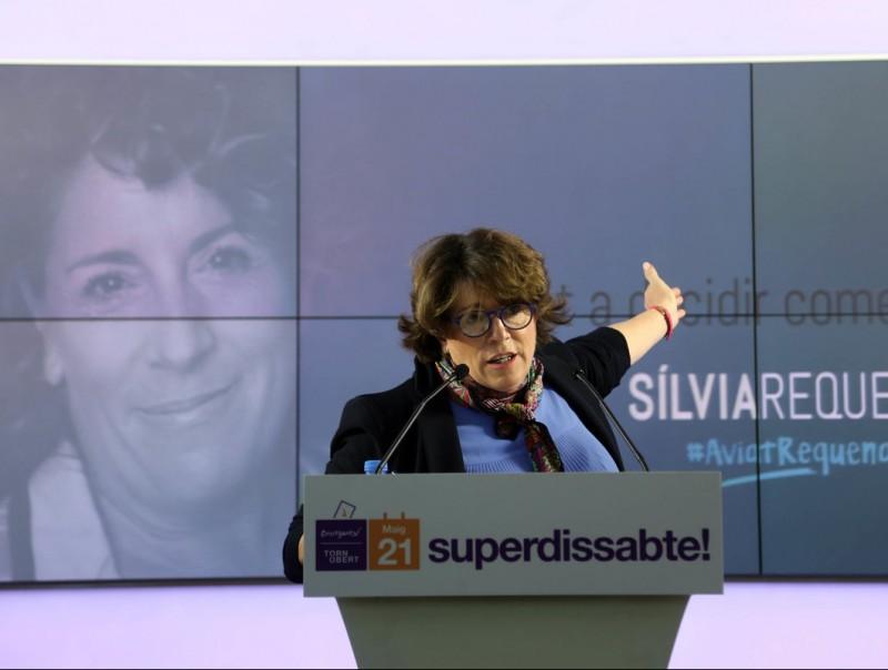 Silvia Requena durant la presentació de la seva candidatura a les primàries de CDC QUIM PUIG