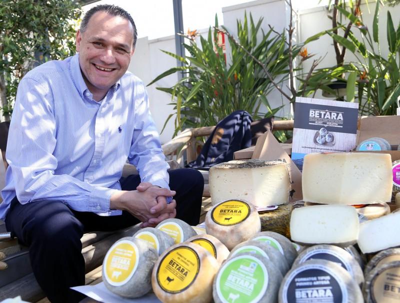 Ramon Berengueras, director general de la formatgeria.  ANDREU PUIG