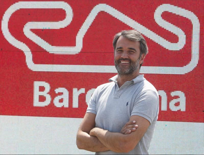 Joan Fontseré, director del Circuit de Barcelona-Catalunya ORIOL DURAN