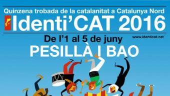 Cartell de l'edició d'enguany d'Identi'CAT