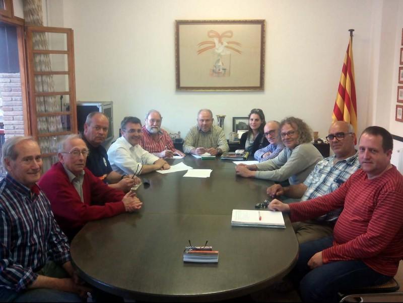 L'Ajuntament de la Riba ha acollit la reunió dels membres dels consistoris i les entitats sobre la protecció del riu EPN