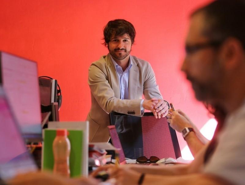 Eloy Herrero és director general de Tandem.  QUIM PUIG