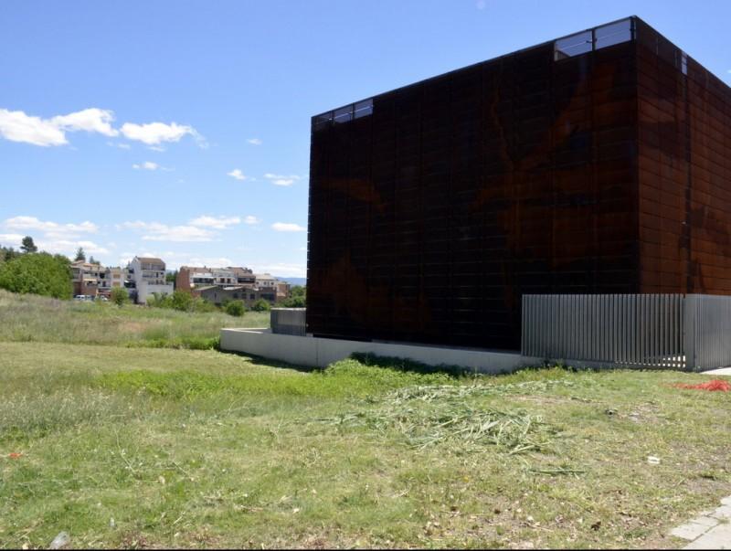 Imatge del solar on es construirà el centre d'interpretació dels sòls. ACN
