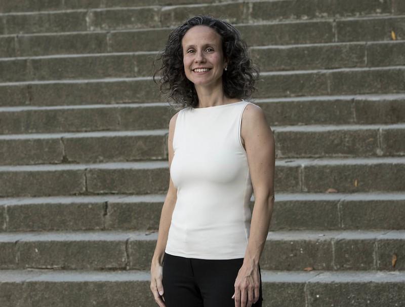 Cristina Quilés, consellera delegada d'Aelix Therapeutcs.  JOSEP LOSADA
