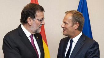 Rajoy conversa amb Donald Tusk EFE