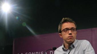 Íñigo Errejón, secretari polític de Podem, la nit del 26-J al Teatre Goya de Madrid EFE
