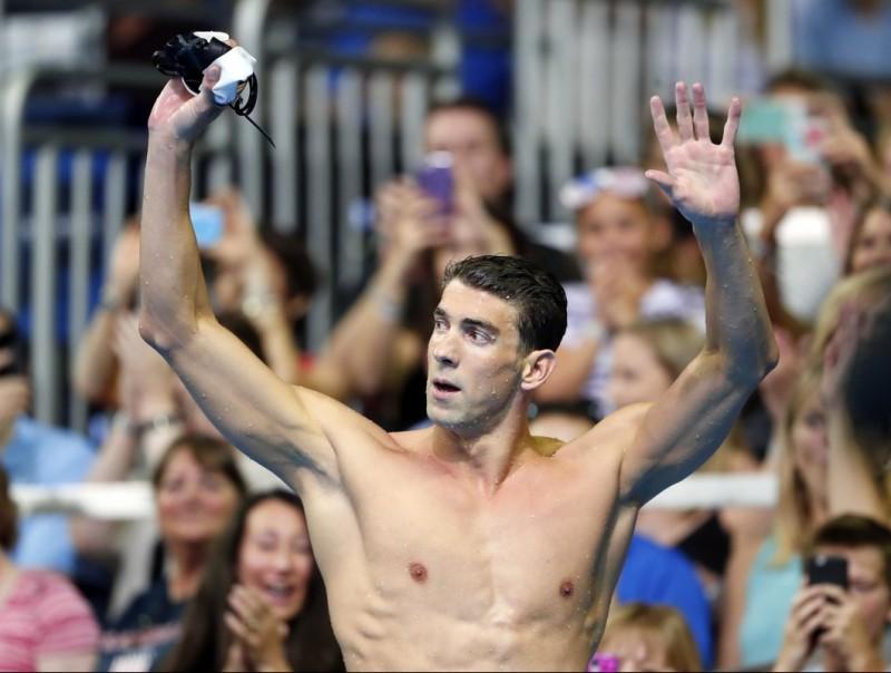 Phelps, ahir REUTERS