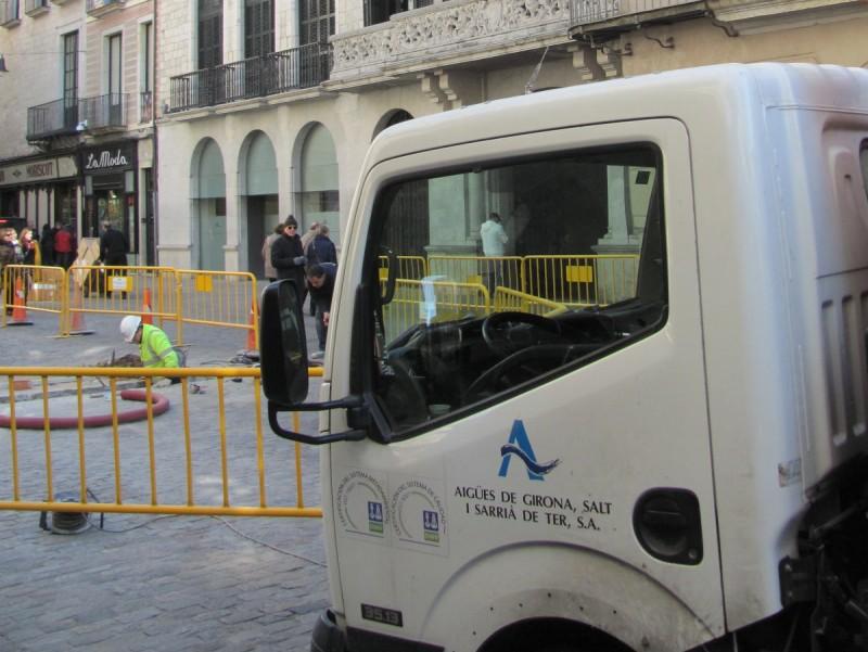 Un camió d'Agissa. EL PUNT AVUI