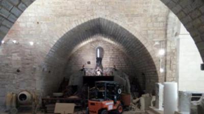 L'Ajuntament de Forès ha estant actuant en la restauració de l'església romànica de Sant Miquel des del 1995 AJ. FORÈS